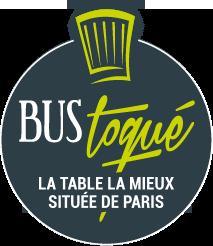 Bustoqué, la table la mieux située de Paris